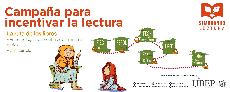 Sembrando Lectura: Campaña para incentivar la lectura