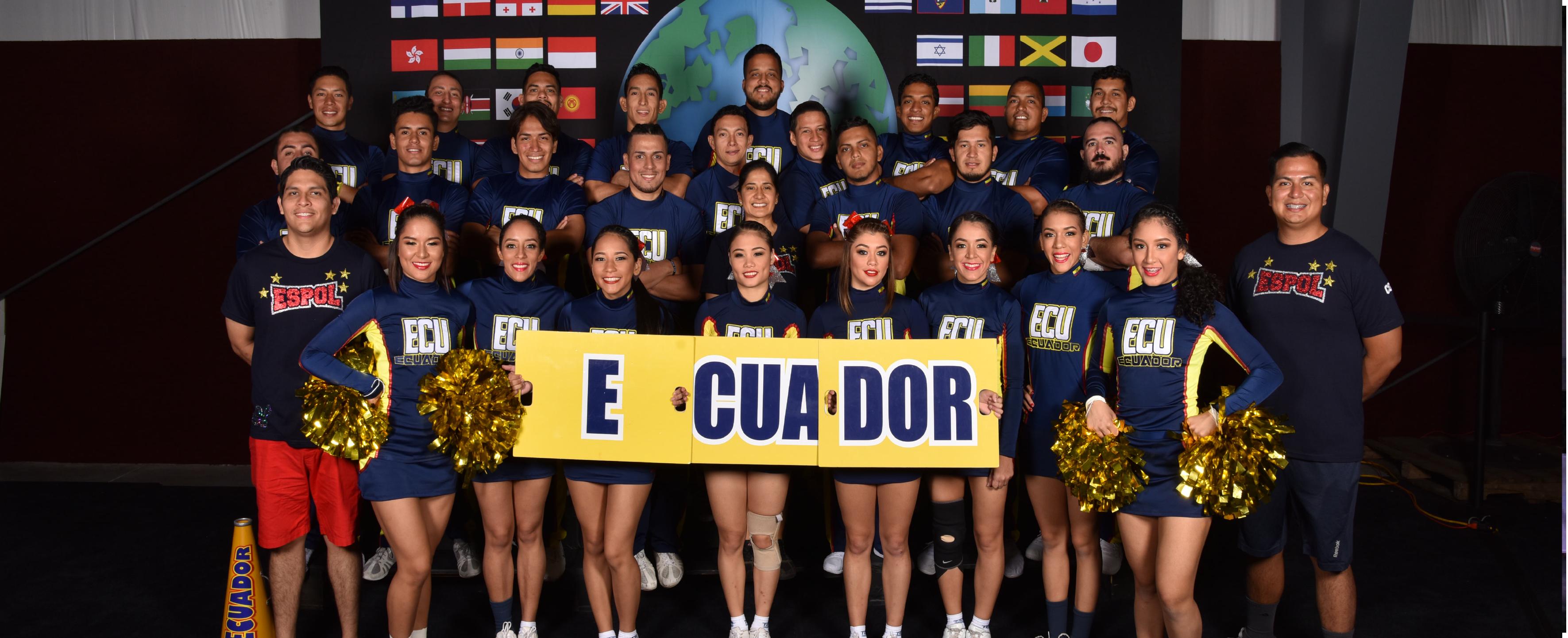 ESPOL representó al país en el mundial de Cheerleading 2018
