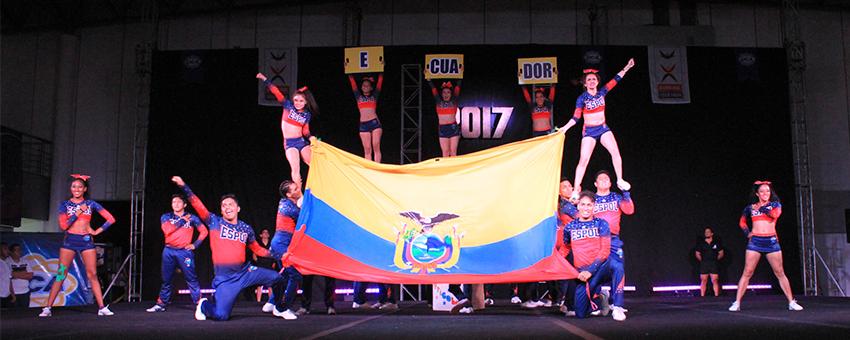 ESPOL representará al país en el mundial de Cheerleading 2018